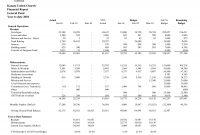Non Profit Treasurer Report Template Treasurers Example intended for Treasurer Report Template Non Profit