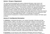 Nondisclosure Agreement Nda Template – Sample with Trade Secret License Agreement Template