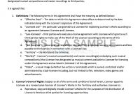 Nonexclusive Licensing Contract Template with regard to Product Sponsorship Agreement Template