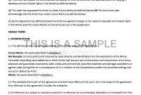 Nonexclusive Recording Contract Template inside Record Label Contract Template
