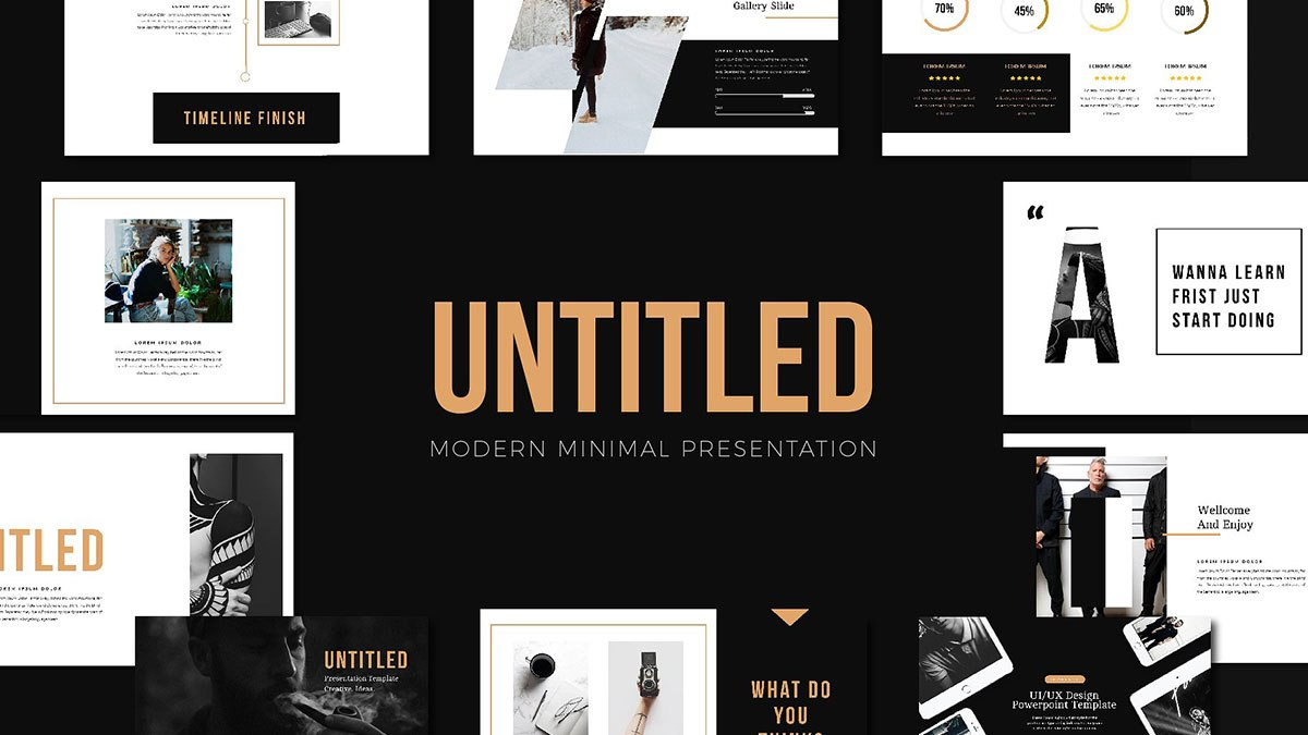 Nook Minimalist Free Powerpoint Template Pertaining To Replace Powerpoint Template