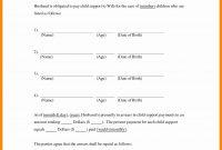 Notarized Custody Agreement Template  Lera Mera within Notarized Custody Agreement Template