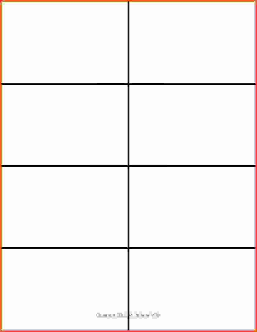 Note Card Template Free Unique Free Printable Flash Cards Template In Cue Card Template