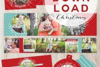 November Freebie  Freebies For Photographers  Christmas Photo Card throughout Free Photoshop Christmas Card Templates For Photographers