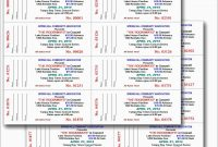 Numbered Event Ticket Template Free Best Inspiring Concert Admission for Blank Admission Ticket Template