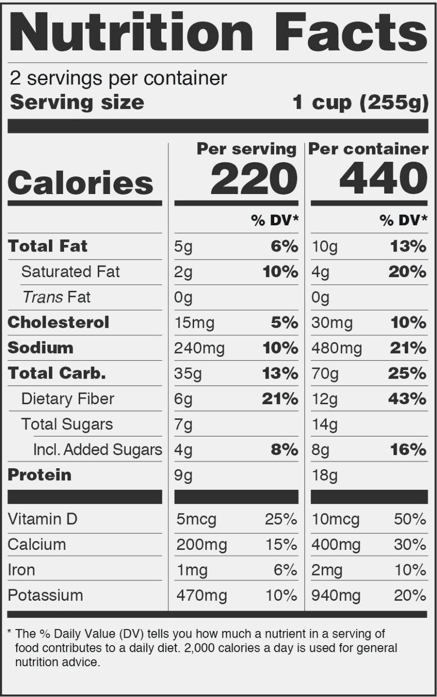 Nutrition Nutrition Label Maker Pertaining To Ingredient Label Template