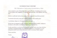 Nysc Relocation Medical Certificate Sample  Nibbleng with Fake Medical Certificate Template Download