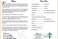 Obituary Template Free  Template Business inside Free Obituary Template For Microsoft Word