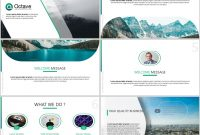 Octave Free Powerpoint Presentation Template – Just Free Slides with Tourism Powerpoint Template