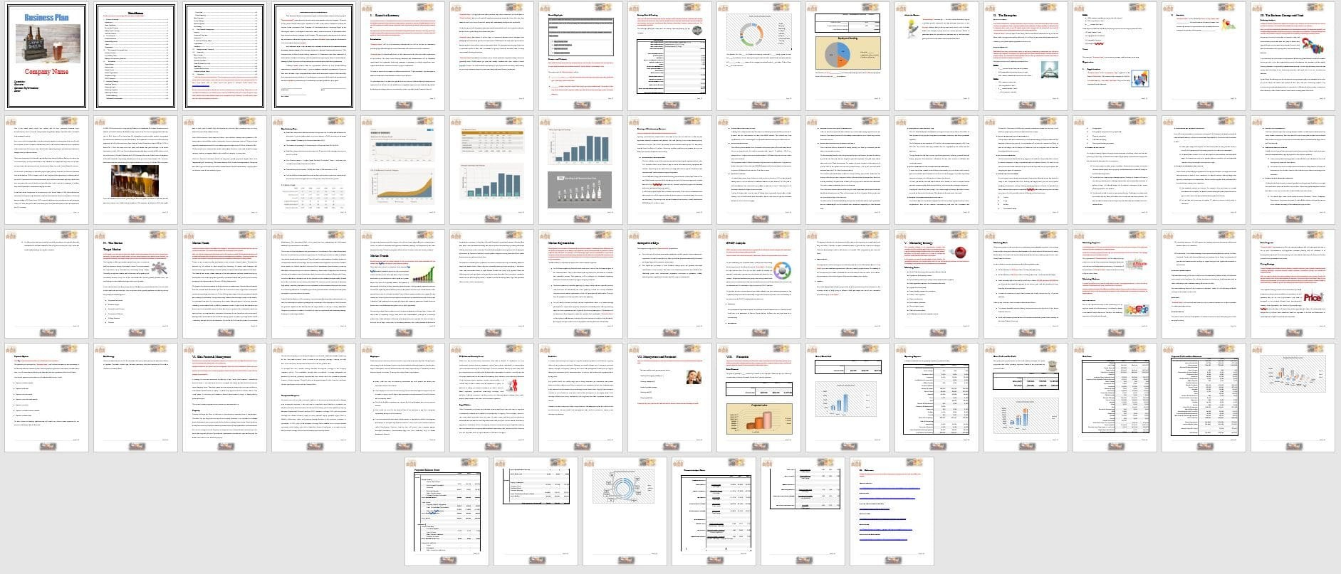 Of Brewery Business Plan Template Then Outstanding Templates Throughout Brewery Business Plan Template Free