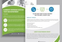 One Page Brochure Template Ideas for One Page Brochure Template