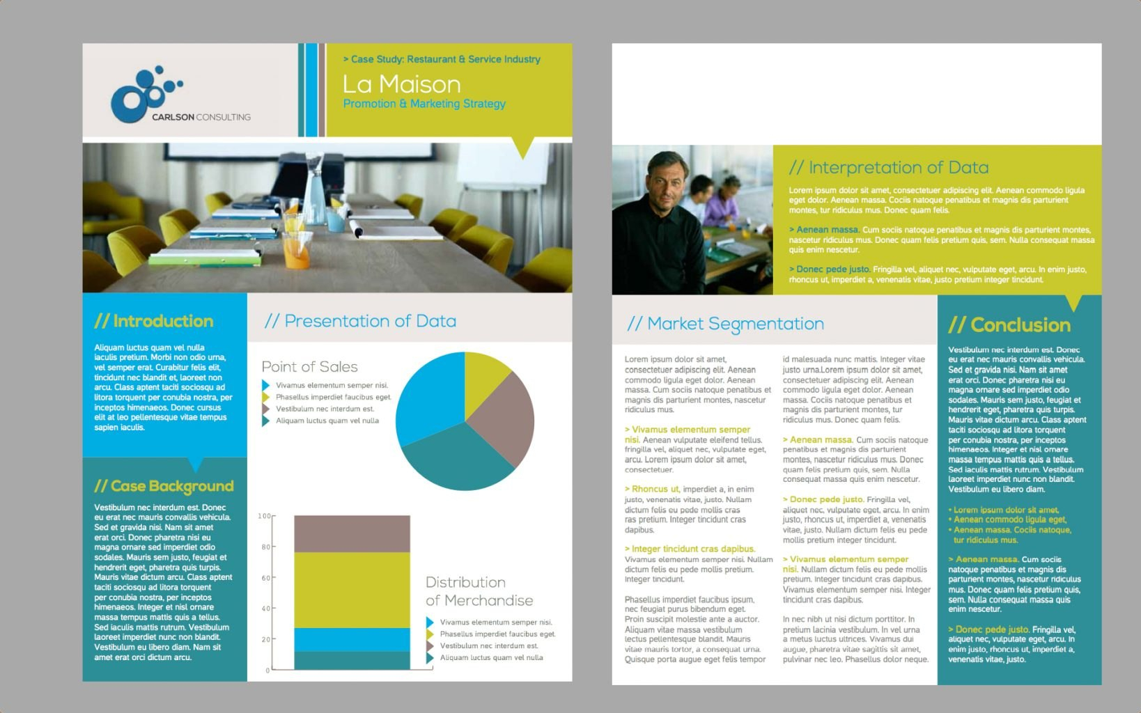 One Pager Template Word Page Brochure Web Layout WordPress Regarding One Page Brochure Template