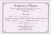 Online Baptism Certificate  Sansurabionetassociats inside Baptism Certificate Template Download