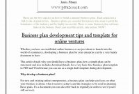 Online Retail Hing Store Business Plan Fashion Concept Pdf in Clothing Store Business Plan Template Free