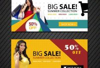 Online Shopping Banners Templates  Free Website Psd Banners for Free Online Banner Templates