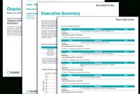 Oracle Audit Results  Sc Report Template  Tenable® intended for Network Analysis Report Template