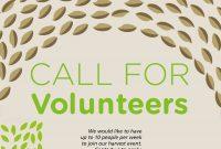 Origins Farm Volunteer Flyer  Graphic  Templates Logos with regard to Volunteer Brochure Template