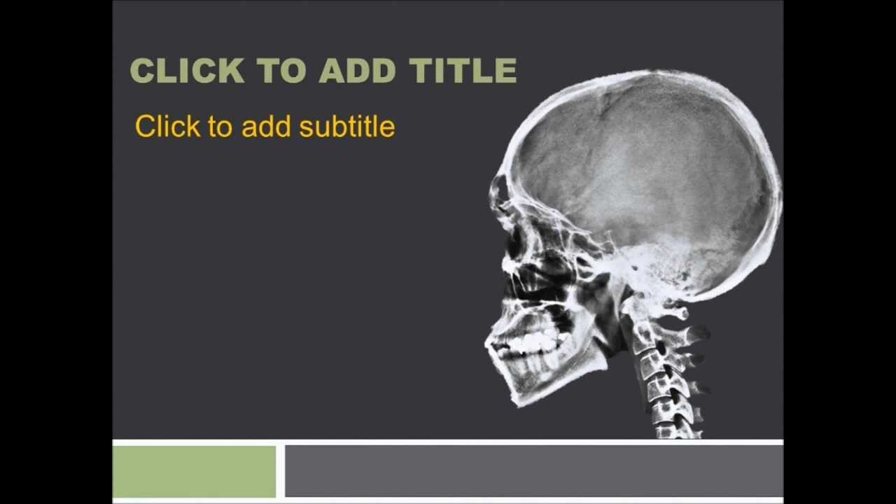Orthopedics Powerpoint Template  Free Download ~ Free Medical Throughout Radiology Powerpoint Template