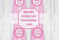 Oz Hand Sanitizer Label Template Archives – Southbay Robot – Free throughout Hand Sanitizer Label Template