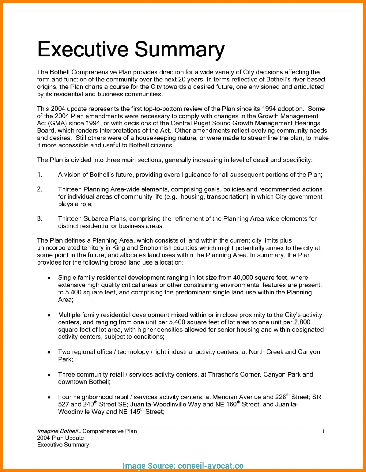Page Business Plan For Template E   Guiaubuntupt Org Plans One In One Page Book Report Template