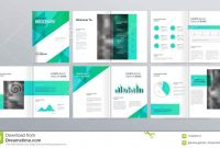 Page Layout For Company Profile Annual Report And Brochure Layout regarding Welcome Brochure Template