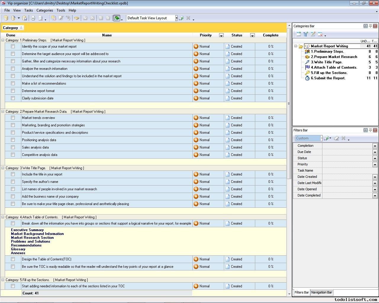 Paid Surveys Market Research Report Template Intended For Market Research Report Template