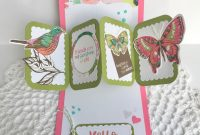 Painted Mountain Cards Friendship Twist Panel Popup intended for Twisting Hearts Pop Up Card Template