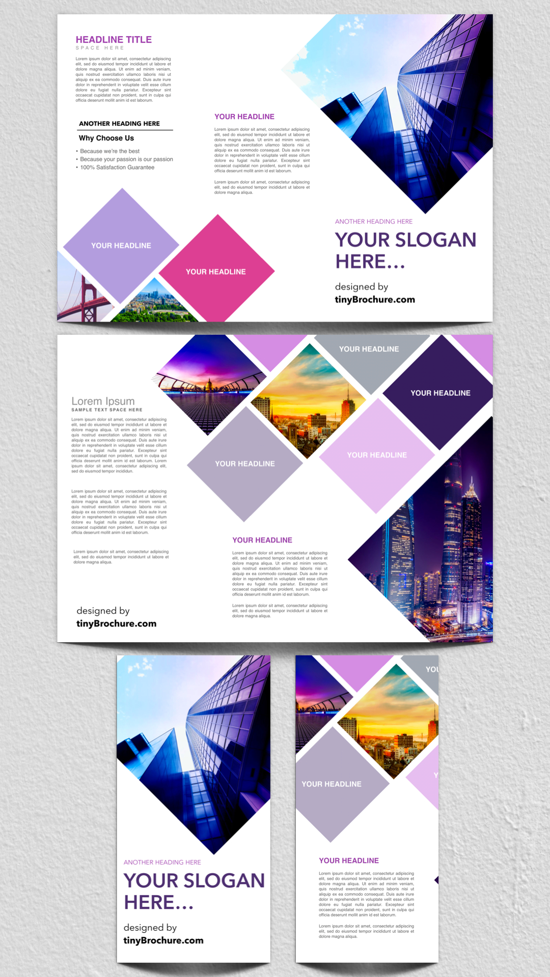 Panel Brochure Template Google Docs Free  Editorial Design Intended For Travel Brochure Template Google Docs