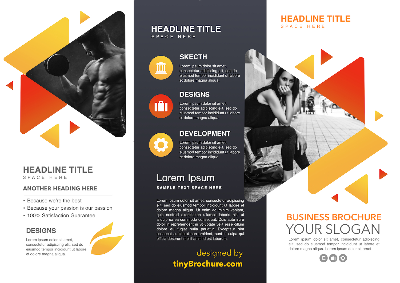 Panel Brochure Template Google Docs Free Inside Three Panel Brochure Template