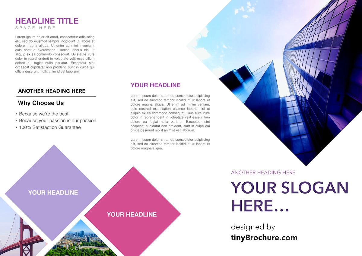 Panel Brochure Template Google Docs Intended For Google Docs Travel Brochure Template