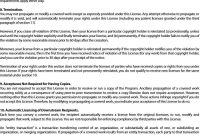 Patent License Agreement Template  Lera Mera regarding Free Trademark License Agreement Template