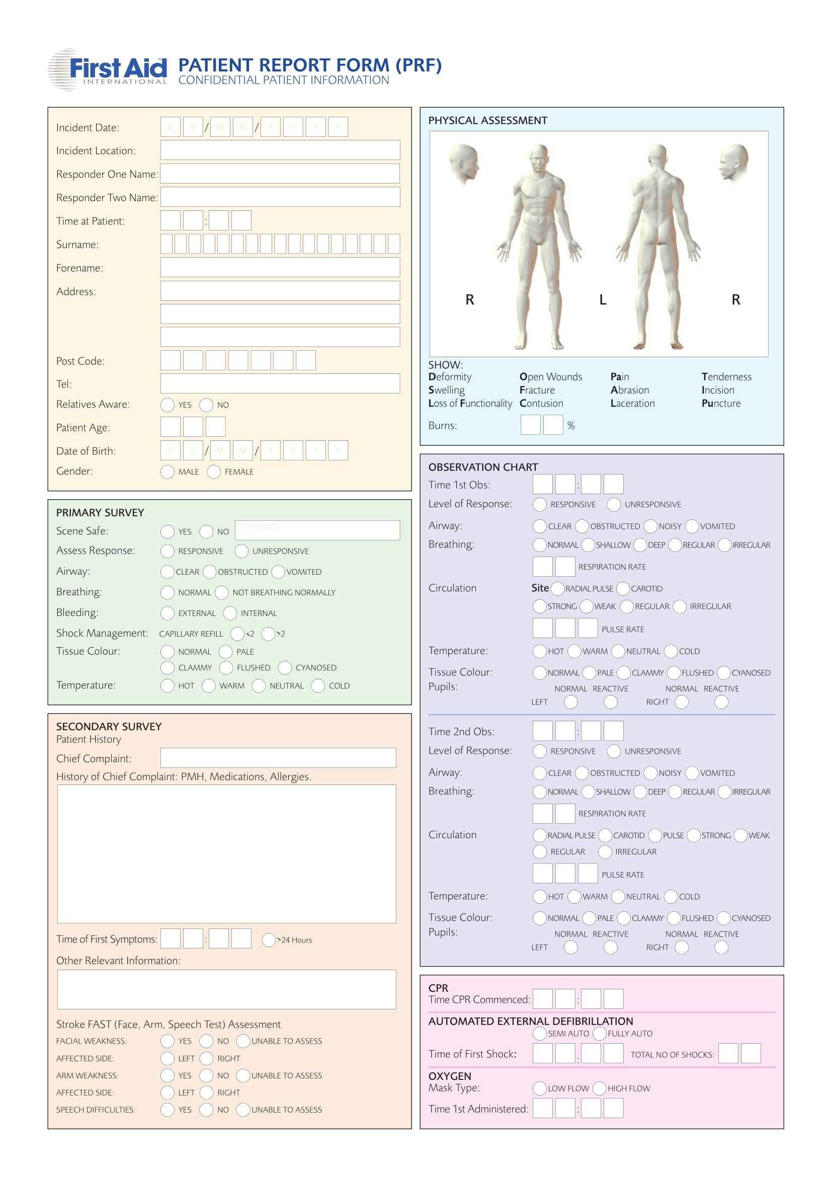 Patient Report Forms  Free Word Pdf Format Download In Patient Report Form Template Download