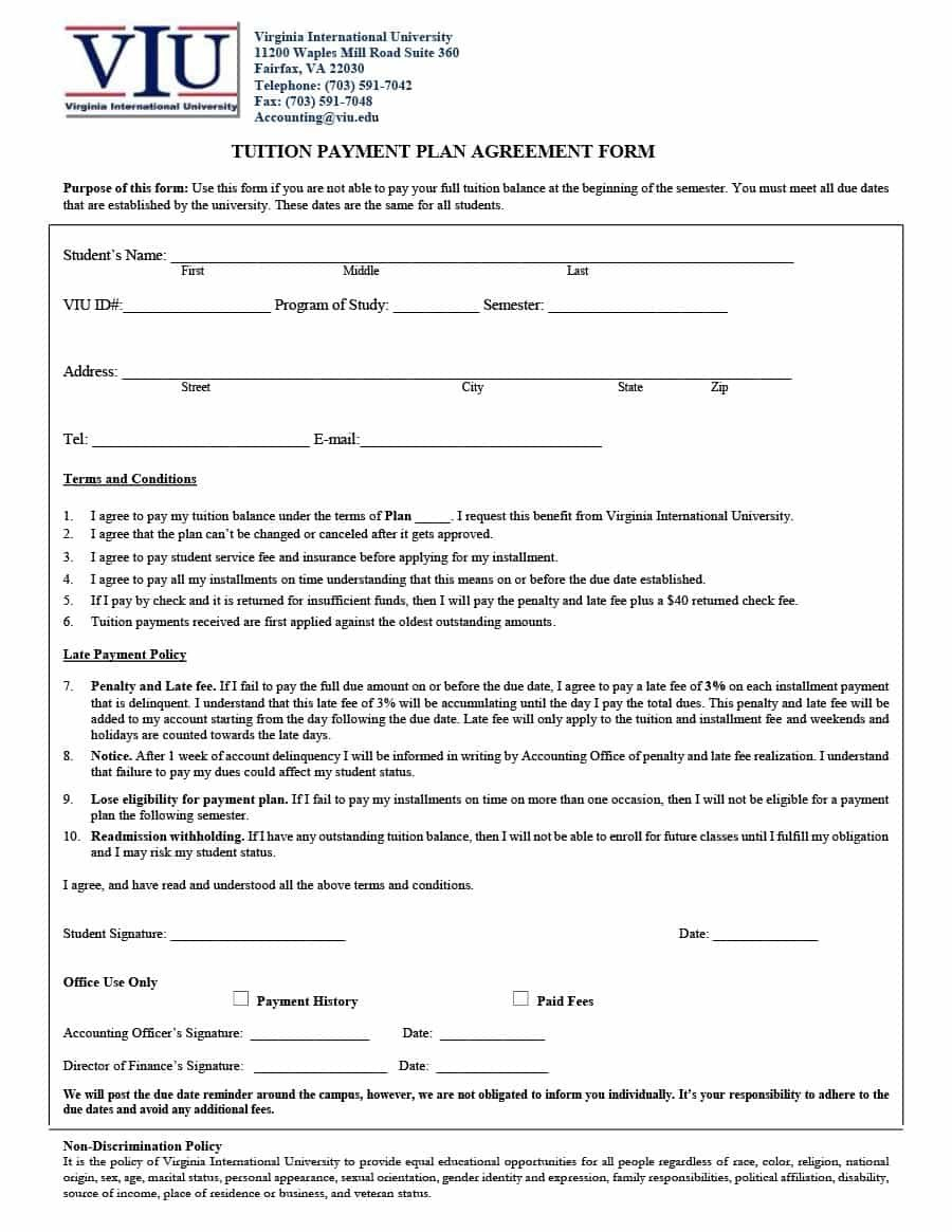 Payment Agreement   Templates  Contracts ᐅ Template Lab Within Free Binding Financial Agreement Template