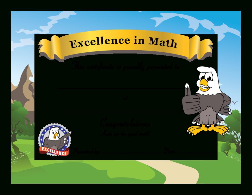 Pbis Award Certificates Templates For Math Certificate Template