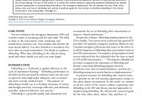 Pdf Debriefing In The Emergency Department After Clinical Events A for Debriefing Report Template