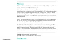 Pdf Debriefing In The Emergency Department After Clinical Events A inside Event Debrief Report Template