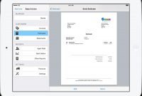 Pdf Invoicing For Ipad Iphone And Mac  Easy Invoice throughout Free Invoice Template For Iphone