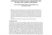 Pdf Islamic Law Of Contract Is Getting Momentum pertaining to Islamic Loan Agreement Template