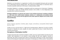 Pdf The Art Of Workplace Mediation From Conflict To Engagement with regard to Workplace Mediation Agreement Template