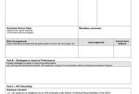 Performance Improvement Plan Templates  Examples in Performance Improvement Plan Template Word