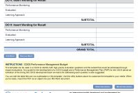 Performance Management Budget Template  Program Cycle  Project pertaining to Monitoring And Evaluation Report Template