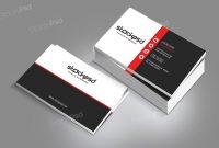 Personal Business Card  Free Psd Template  Free Psd Flyer regarding Psd Name Card Template