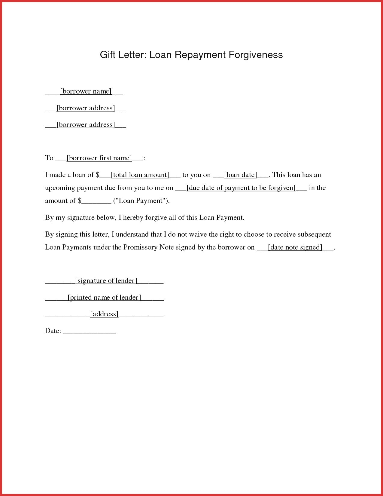 Personal Loan Repayment Letter Template Download Within Employee Repayment Agreement Template