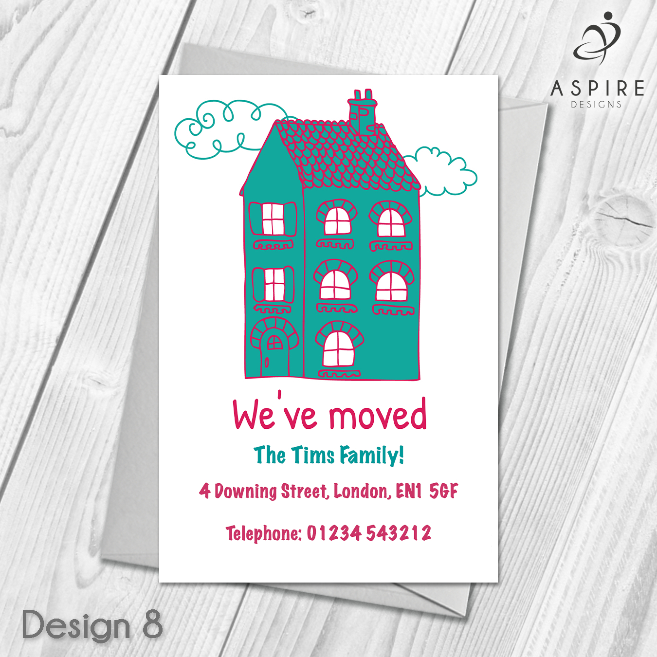 Personalised Home Sweet Home Change Of Address Cards  Personalised Intended For Free Moving House Cards Templates