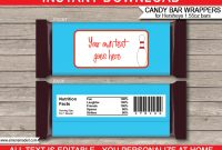 Personalized Candy Bar Wrapper Template  Icardcmic In Blank Candy Bar Wrapper Template For Word
