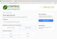Pest Control Business Software  Ios App  Servicem inside Pest Control Report Template