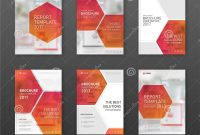 Pharmaceutical Brochure Cover Templates Set Stock Vector throughout Pharmacy Brochure Template Free