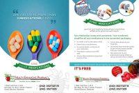 Pharmacy Brochure Design  Top Pharmacy Brochure Design Templates regarding Pharmacy Brochure Template Free