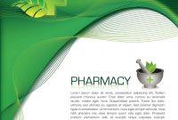 Pharmacy Brochure Royalty Free Vector Image  Vectorstock in Pharmacy Brochure Template Free