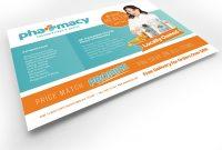 Pharmacy Flyer Template  Psd Ai  Vector  Brandpacks for Pharmacy Brochure Template Free